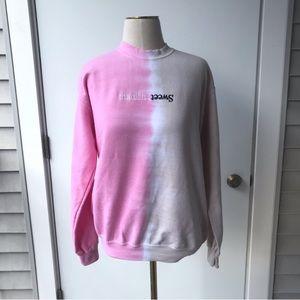 Ariana Grande Sweetener Tour Split Sweatshirt